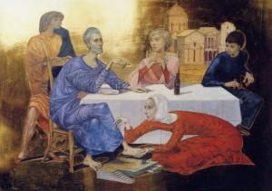 L'onction à Béthanie de Philippe Lejeune